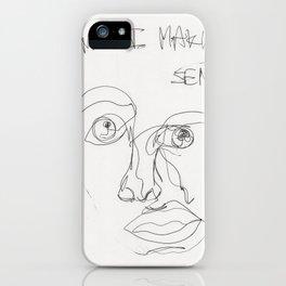 Am I Making Sense? iPhone Case