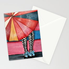 Out of the Rain Stationery Cards