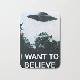I Want to Believe Badematte