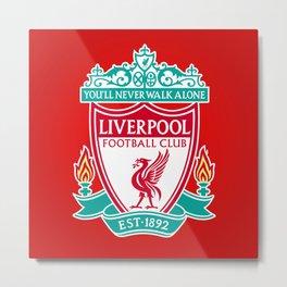 Liverpool FC Metal Print
