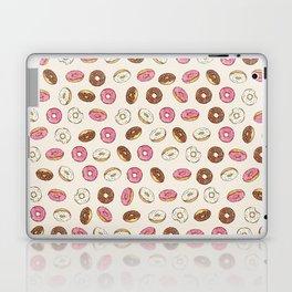 ALL the donuts! Rainbow on Cream Laptop & iPad Skin