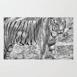 Malayan Tiger (Harimau) Rug