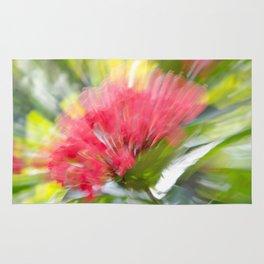 Flower Burst - Electric Magenta Rug