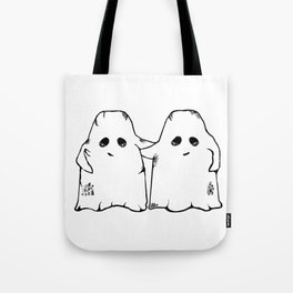 Ghost Friend Tote Bag