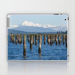 MOUNT BAKER KOMA KULSHAN AND OLD PILINGS  Laptop & iPad Skin