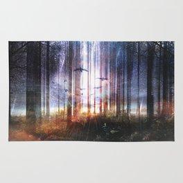 Absinthe forest Rug