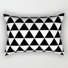 MODERN TRIANGLE PATTERN Rectangular Pillow