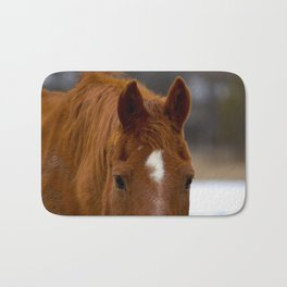 Red - The Auburn Horse Bath Mat