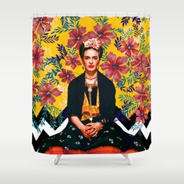 Frida Tropical Shower Curtain