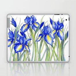 Blue Iris, Illustration Laptop & iPad Skin