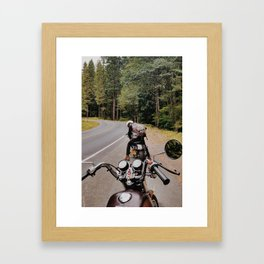Travels with Chris Framed Art Print