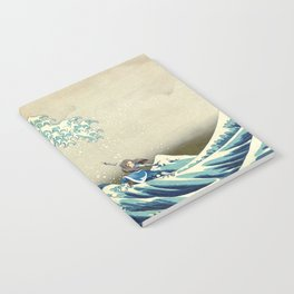 Katara Riding the Wave Notebook