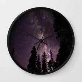 Milky Way Wall Clock