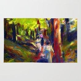 Max Liebermann Forest Walk Rug
