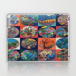 Bolitas de colores Laptop & iPad Skin