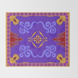 Aladdin's Magic Carpet Throw Blanket