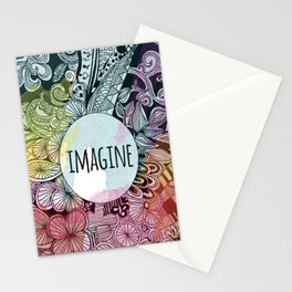 Imagine In Color Stationery Cards