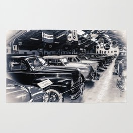 Cars of the fifties Rug