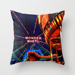Coney Island, Baby Throw Pillow