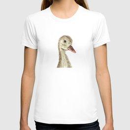 smiling little duck T-shirt