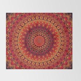Mandala 261 Throw Blanket