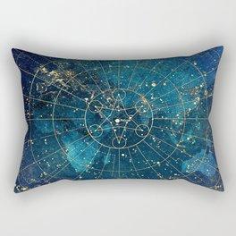 Star Map :: City Lights Rectangular Pillow