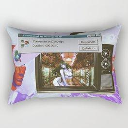 CHROME FΔILURE Rectangular Pillow
