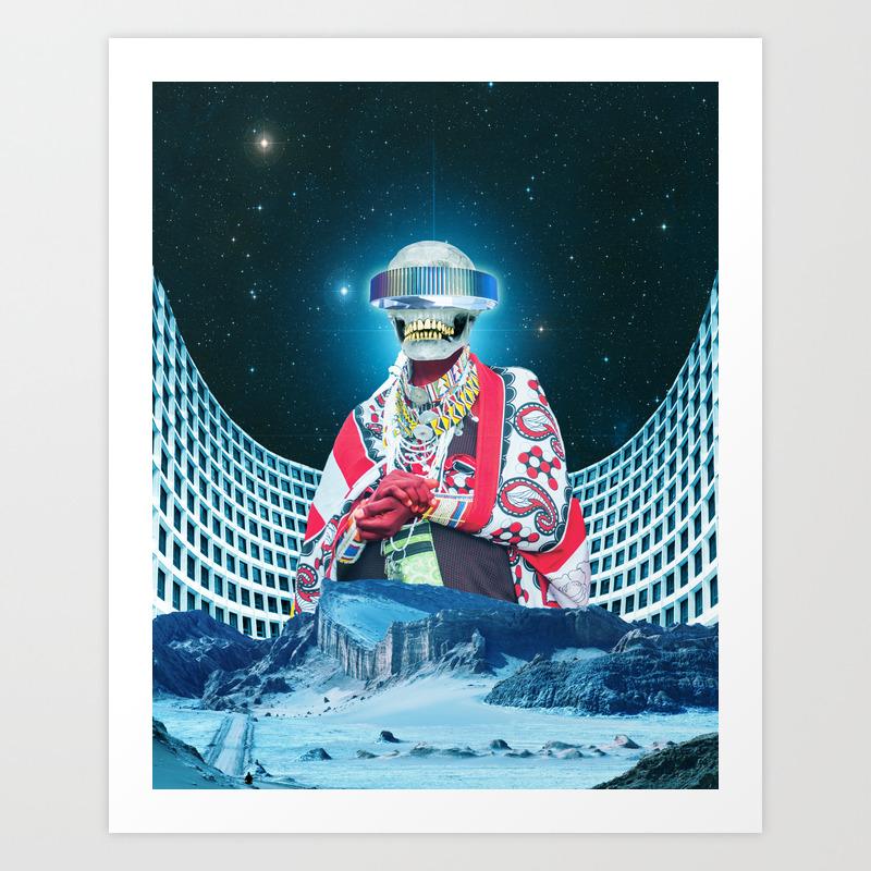 Prophet Of Funk Poster by Davidalabo PRN8698108