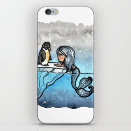 Antarctic Mermaid iPhone Skin
