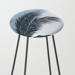 Palm and Ocean Counter Stool