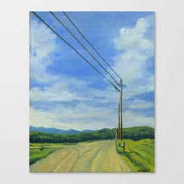 Vermont Backroad Canvas Print