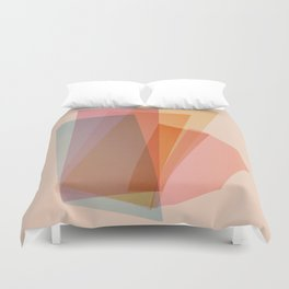 Abstraction_Spectrum Duvet Cover