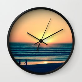 Walk With Me Wall Clock