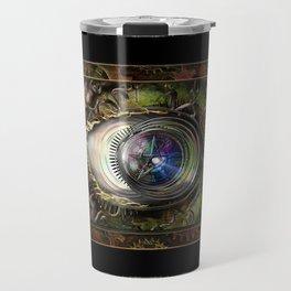 Eye of the Elemental Universe Travel Mug
