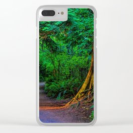 Magic Moment Clear iPhone Case