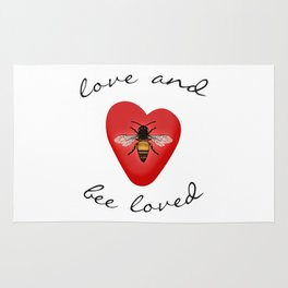 Love and Bee Loved Rug