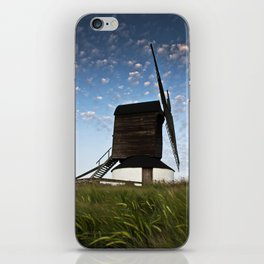Sunset at the Windmill iPhone Skin