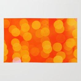 Orange Disco Fever Rug