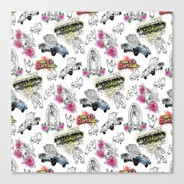 South Central Pattern Canvas Print