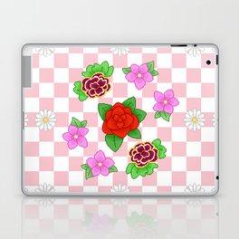 Pixel Flower Pattern Laptop & iPad Skin