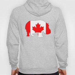 "Hippopotamus ""Canada"" Hoody"