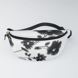 Large Daisy Design Fanny Pack