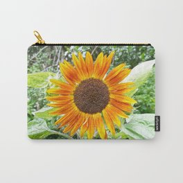 Orange Sunflower NYC Carry-All Pouch