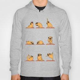 Pug Yoga Hoody