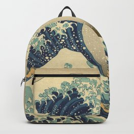 The Great Wave - Katsushika Hokusai Backpack