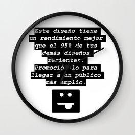 Ese mensaje que siempre aparece Wall Clock