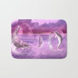 Dream Of Dolphins Bath Mat