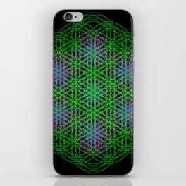 Trippin Circles iPhone Skin