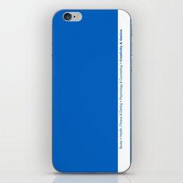 creativity & genius iPhone Skin