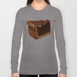 Pecan Pie Slice Long Sleeve T-shirt
